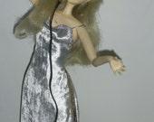 "OOAK  Art doll  ""Singer"" porcelaine clay unique doll  Author Interior Doll handmade"