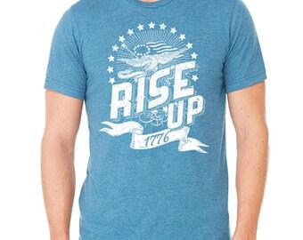 Hamilton Shirt, America Rise Up Shirt, Hamilton Musical Shirt, Hamilton Fan, 4th of July Tshirt, Independence Day, 1776 Patriotic Shirt