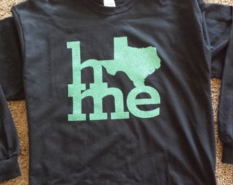 Texas Home Tee Shirt - Long Sleeve/Short Sleeve