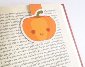 Pumpkin Magnetic Bookmark - Pumpkin Bookmarks