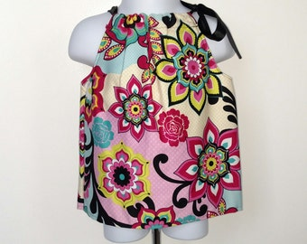 Flower print Pillowcase Dress