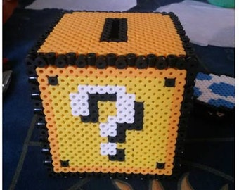 Super Mario Question Mark Piggy Bank