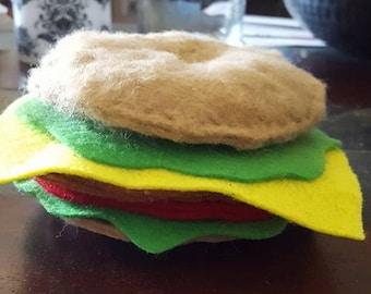 Catnip Cheeseburger Toy