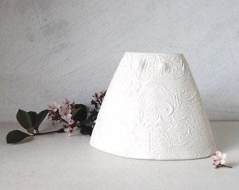 Modern white vase, porcelain flower vessel, polished slip cast bathroom decor, las meninas style, classic white vase, contemporary design