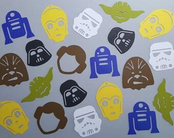 100 Star Wars Inspired Confetti / Themed Parties / Holidays / Birthdays / Table Decor / Wedding