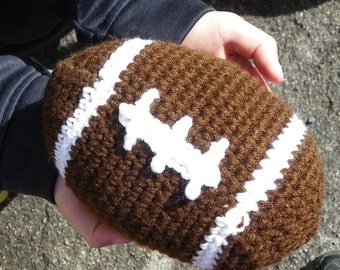 Crochet Football, Toy Football, Stuffed Football