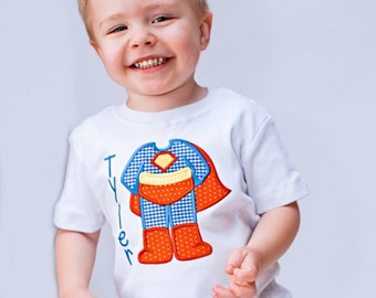Superhero shirt - Superhero birthday shirt - Little boy shirts - Personalized boy shirt - Superhero party - Toddler boy outfits