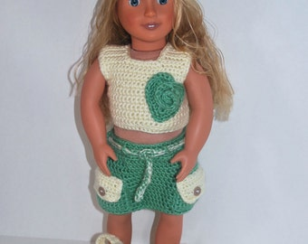 Crochet 18 inch American Girl Doll Outfit