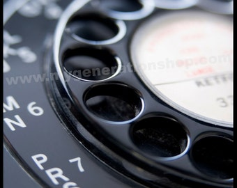 Rotary Dial Telephone Poster