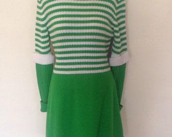 1970's Neiman Marcus Sweater Dress