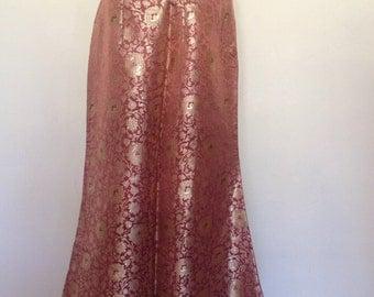 1950's Gold Brocade Skirt