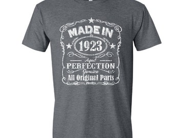 1923 birthday, 1923 shirt, 1923 T-Shirt, 1923