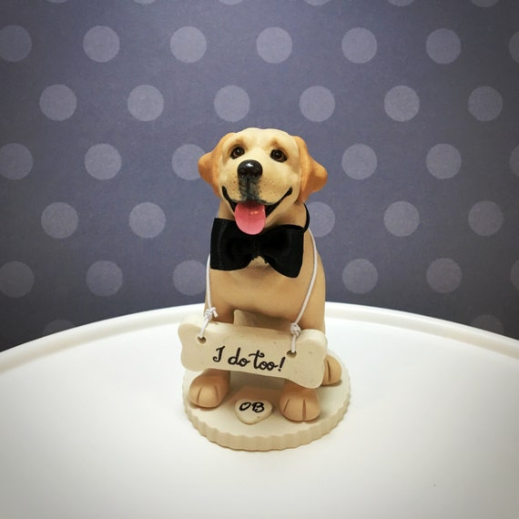 How To Make A Labrador Cake Topper