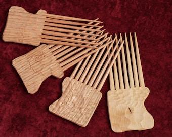 Wooden african comb