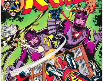 X-men 98, Storm comic book, Xmen, Wolverine, Cyclops, Nightcrawler, Colossus, Charles Xavier, Uncanny. 1976 Marvel Comics in VF (8.0)