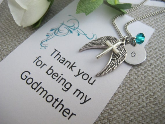 Godmother Gift Godmother Necklace Godmother By Creations108