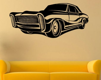 Car wall decal etsy - Cars wandsticker ...