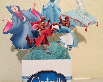 Cinderella- Disney Princess Centerpiece- we can do any theme!