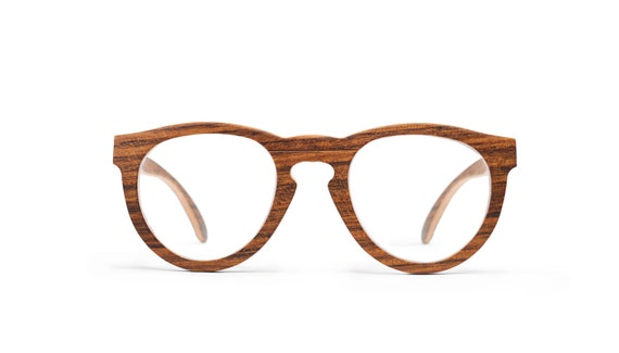 Wooden Reading Eyeglasses, Handmade Wood Eyewear, RX Wooden Eyeglasses | Mens and Womens Glasses
