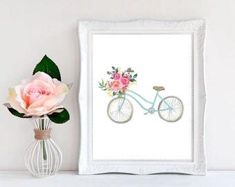 Bicycle Wall Decor bike wall art | etsy