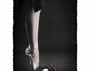 Ballerina and Roses