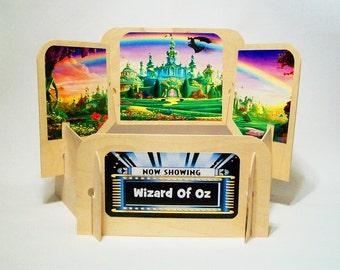 Wizard Of Oz wooden puppet theater