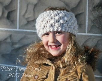 Beach Pebbles Headband Pattern