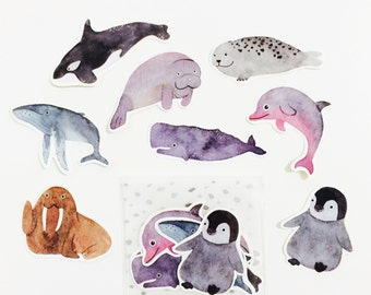 Under the Sea - Sticker Pack (8 in one pack)