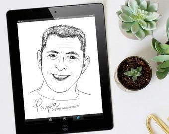 Custom portrait - digital VERSION
