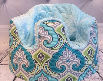 CLOSEOUT Teal and Green Moroccan Bumbo Cover
