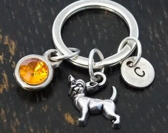 Chihuahua Keychain, Custom Keychain, Custom Key Ring, Chihuahua Key Chain, Chihuahua Charm, Chihuahua Pendant, Chihuahua Jewelry, Chihuahua