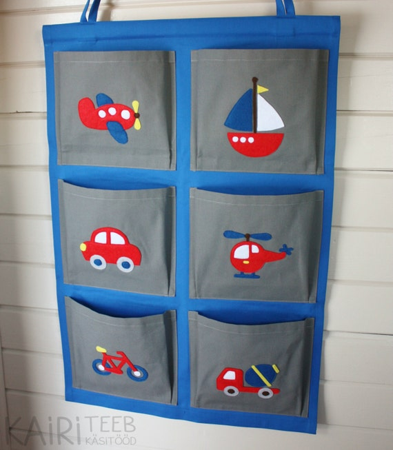 items similar to hanging wall organizer for kids pocket