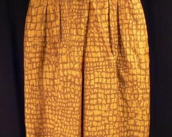 Carlisle vintage 1980s linen high waist shorts - Size 6