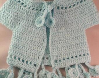 Baby/Toddler crochet bolero