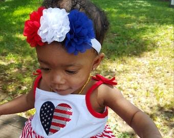 4th of july headband.fourth of july headband.4th of july baby headband.fourth of july baby headband.july 4th headband.Memorial Day headband