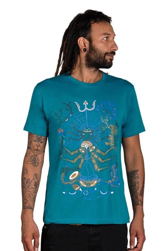 Ayahuasca T shirt Shaman T shirt Pagan Shirt Spider-Cosmos