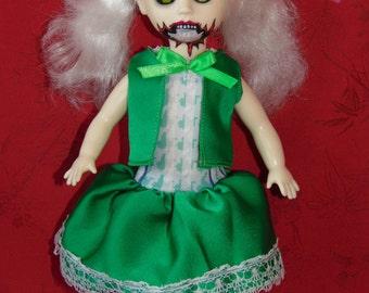 Green Spider Dress for Living Dead Dolls