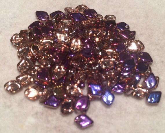 Dragon Scale Beads 1.5x5mm Crystal Sliperit DRG329500 5