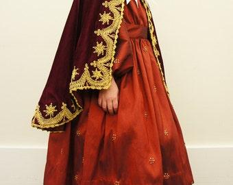 child's Victorian cape 1860s