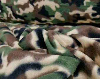Army Camouflage Polar Fleece