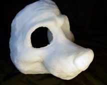 Cut & Carved Canine soft foam head base for fusuits, costumes and mascots