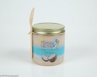 Coconut Salt Scrub - Free Shipping
