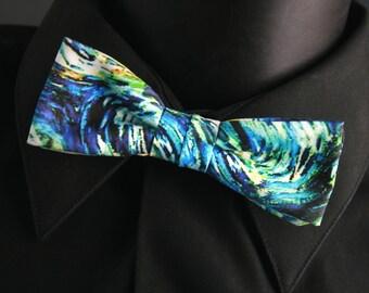 "Organic Cotton ""Starry Night"" Bow Tie"