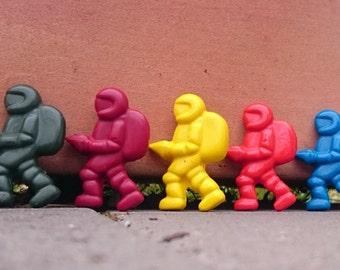 Spaceman crayons