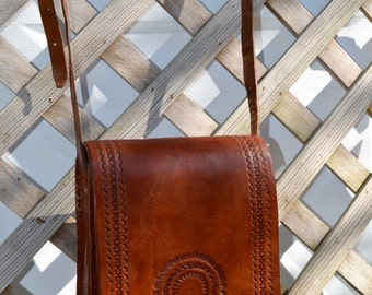 Leather Crossbody Bag // Messenger Bag  // Leather Purse // Mother's day Gift