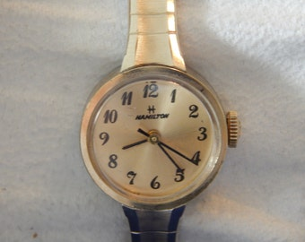 Vintage Hamilton Watch for Ladies 10 KT