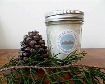 Mt. Mitchell - all natural 100% soy candle