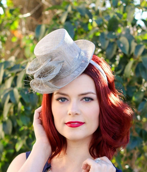 British wedding hats for women silver gray top hat for Housedesigner com plans
