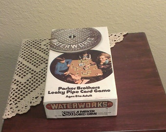Vintage Waterworks Game - Complete - Parker Brothers (1972)