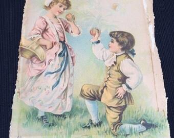Vintage Print, circa 1901